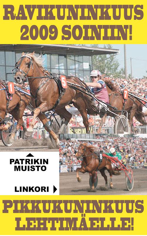Ravikuningas 2009 Patrikin Muisto